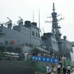ヨコスカサマーフェスタに行って護衛艦きりしまとミサイル駆逐艦マッキャンベルに乗ってきた