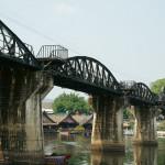 カンチャナブリへ行って有名な橋だけ見てきた