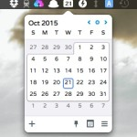 Mac のメニューバーからカレンダーを確認できるアプリ Itsycal