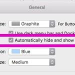 OS X El Capitan でメニューバーの非表示と自動表示ができるようになった