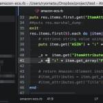 Atom で行や列、選択した文字列をハイライトするプラグイン