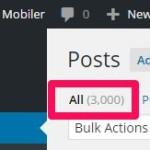 ブログの記事数が 3000 を超えた