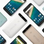 Google, Nexus の新モデル Nexus 5P/6X 発表