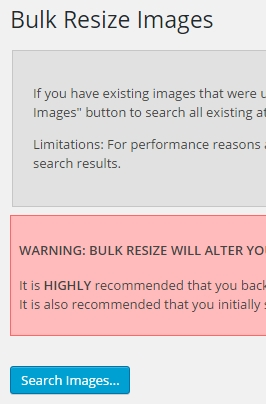 wordpress-imsanity-bulk-resize