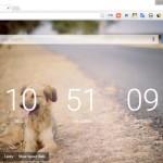 背景が動く綺麗な Chrome の新規タブ Live Start Page