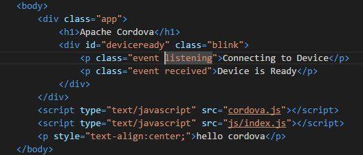 cordova-hello-html