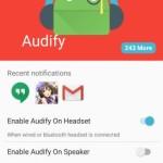 画面の確認不要、通知を読み上げてくれる Android アプリ Audify Notification Reader