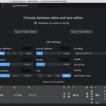 Atom で CSV ファイルを編集するのに便利な tablr パッケージ
