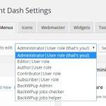 WordPress の管理画面をカスタマイズするプラグイン Client Dash