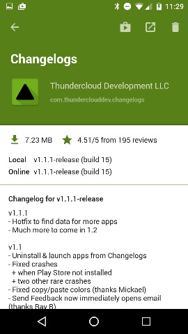 android-changelogs-detail