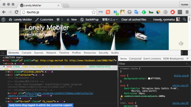 chrome-devtools-theme-brogrammer