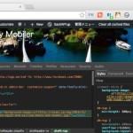 Google Chrome の開発者ツールの見た目を変更する拡張機能