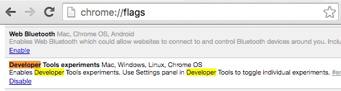 chrome-flags-developer-tools-experiments