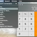 Mac 標準機能で通貨や長さ、重さなどの単位を変換する