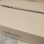 標準 8GB になった Macbook Air 13 inch を購入した