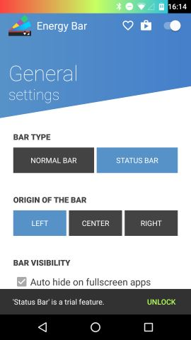 android-energy-bar