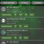 無線 LAN の解析を行う Android アプリ Wifi Analyzer