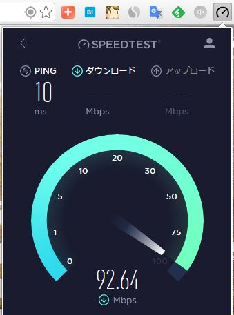 chrome-speedtest-testing