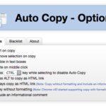 Chrome で選択文字列を自動でコピーする拡張機能 Auto Copy