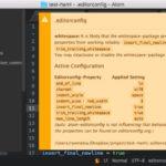異なるエディタ間で設定を統一させる EditorConfig を Atom で使ってみる