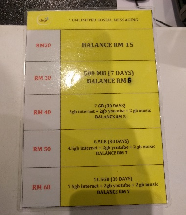 malaysia digi prepaid plan