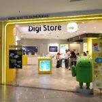 マレーシアの KLIA で Digi のプリペイド SIM を購入した