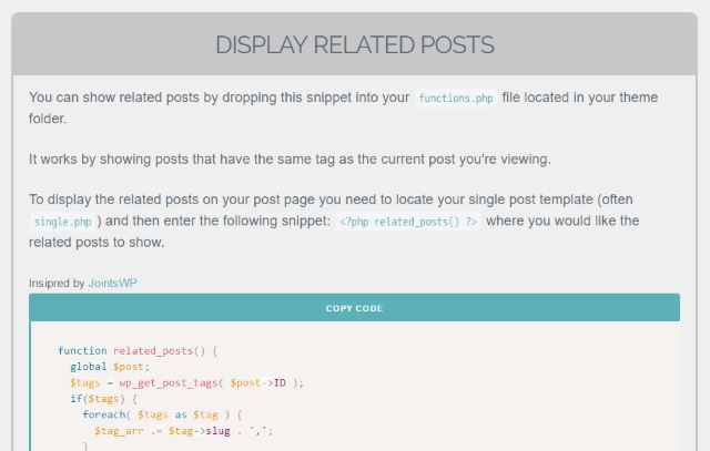 wordpress-related-posts-without-plugin