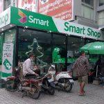 プノンペン Sorya Center Point で Smart のプリペイド SIM を購入した