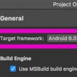 Xamarin でビルドした Android アプリを実行しようとしたら Unable to find application Mono.Android.Platform.ApiLevel_24 or Xamarin.Android.Platform! と言われた
