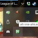 Windows の Alt キーで IME のオン/オフを行う為のソフトウェア alt-ime-ahk