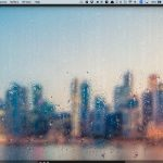 Mac の中に雨を降らせるアプリ Rainfall - Rain On Glass Live Wallpaper