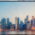 Mac の中に雨を降らせるアプリ Rainfall - Rain On Glass Live Wallpaper