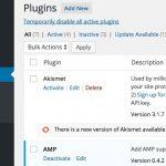 WordPress プラグインの有効/無効を一括で切り替える Meks Quick Plugin Disabler