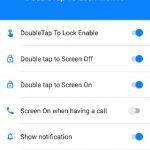 ダブルタップで画面のオン/オフを切り替える Android アプリ Double Tap Screen On and Off