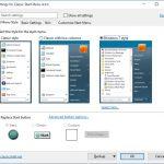 Windows のスタートメニューを旧バージョンに戻す Classic Shell