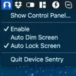 顔認識して離席したら自動的に Mac をロック/スリープするアプリ Device Sentry