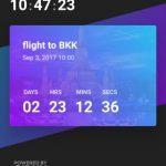 記念日や大事な用事のカウントダウンを行う Android アプリ/ウィジェット Hurry
