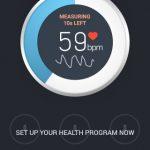 スマートフォンのカメラで心拍数を測るアプリ Instant Heart Rate