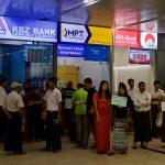 ヤンゴン国際空港で Telenor のプリペイド SIM を購入した