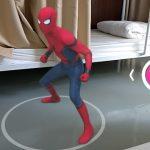 スパイダーマンなどの3Dモデルと一緒に写真/動画を撮れるスマホアプリ Holo