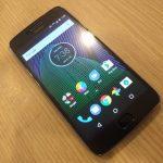 バンコク MBK で Motorola Moto G5 Plus を購入した