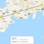 Google Maps で二点間の距離を測る方法