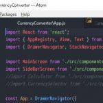 Atom のタブにファイルパスを表示するパッケージ smart-tab-name