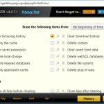 Google Chrome の履歴やキャッシュを簡単に削除できる拡張機能 History Eraser