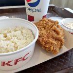 マレーシア KFC のフライドチキンライスセットが美味い