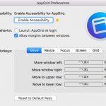 ウインドウの拡大縮小や移動をショートカットキーで行う Mac アプリ AppGrid